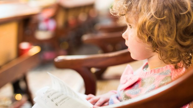 Are Your Kids Bored in Church? That's Okay.