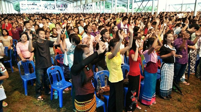 For First Time, Youths Acquire the Fire in Myanmar