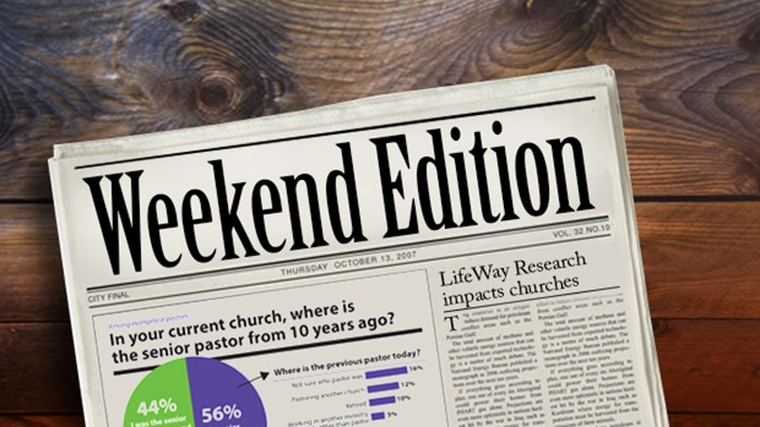 Weekend Edition: September 11, 2015