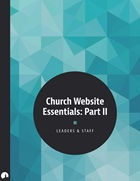 Church Website Essentials: Part II