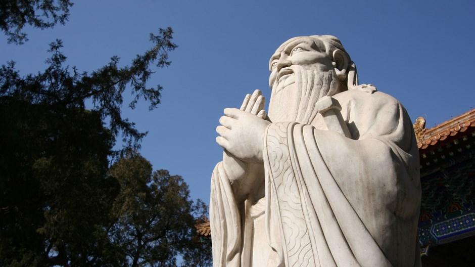 Cristiano, conozca a Confucio
