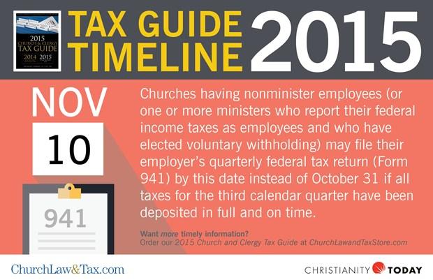 Tax Guide Reminder: November 2015