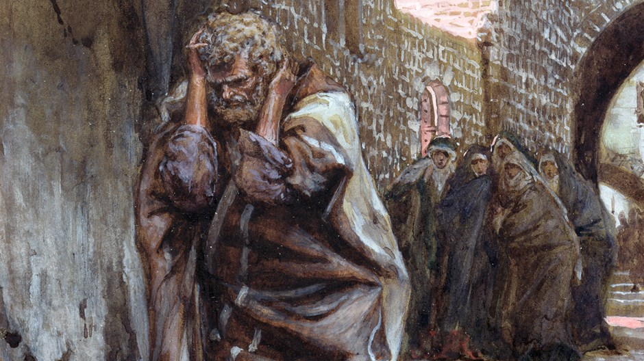 Did Matthew Think Peter Was a False Disciple?