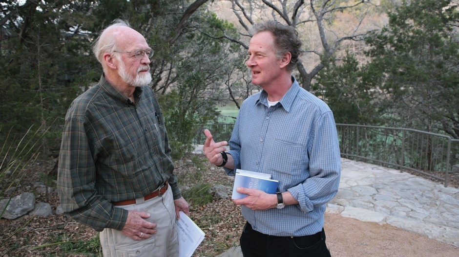 The Joyful Environmentalists: Eugene Peterson and Peter Harris