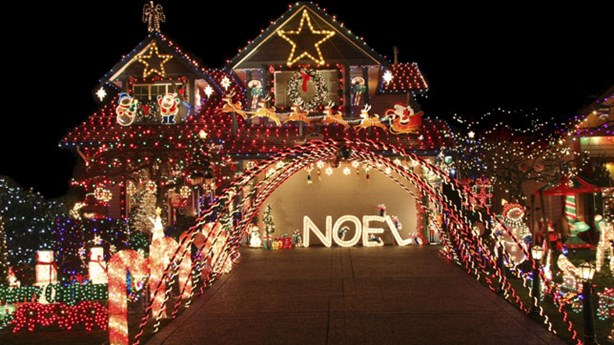 Guinness Record for Most Christmas Lights