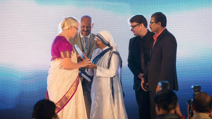 Forgiver of Missionary Martyrdoms Wins India's Mother Teresa Award