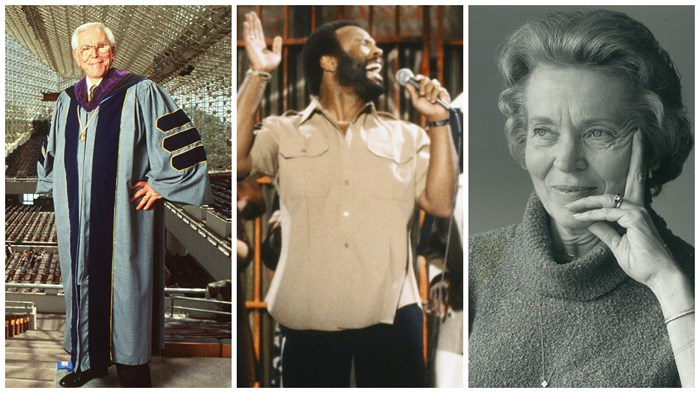 Noteworthy Deaths of 2015: Elisabeth Elliot, Robert Schuller, Andrae Crouch, and More