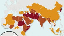 North Korea Gets Competition: The Top 50 Countries Where It's Now Hardest to Be a Christian