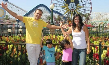 An Abedini family vacation.