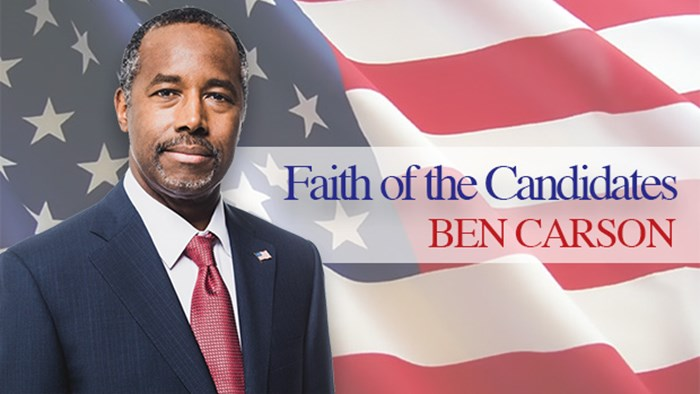 Faith of the Candidates: An Interview w/ Ben Carson (Part 1)