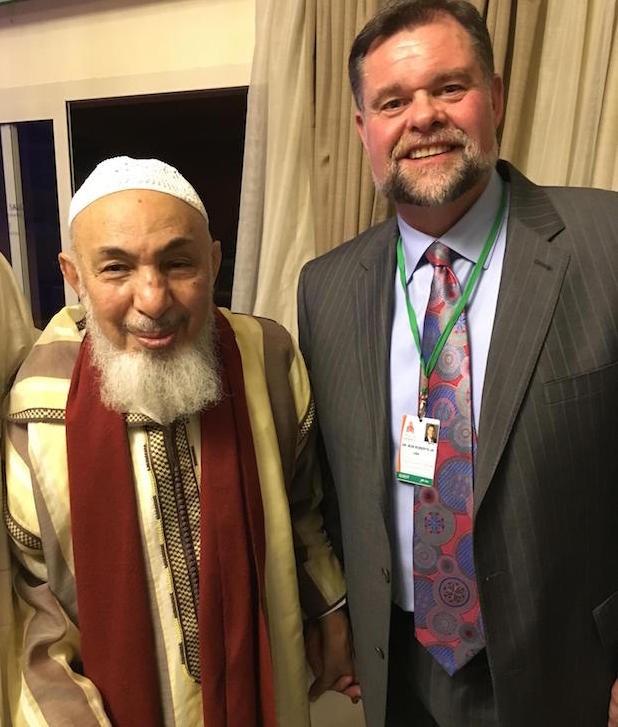 Sheik Bin Bayyah and Bob Roberts, Jr. in Morocco