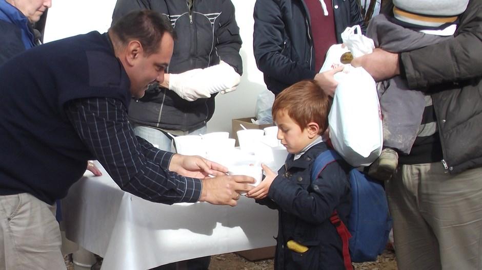 Refugiados en el Camino Romaní