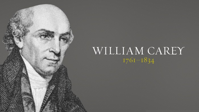 William Carey......