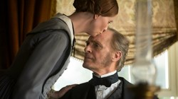 Cynthia Nixon and Keith Carradine in 'A Quiet Passion'
