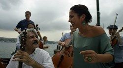 Kayhan Kalhor and Aynur Dog in 'The Music of Strangers'