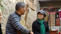 Wu Man and Zhang Ximin in 'The Music of Strangers'