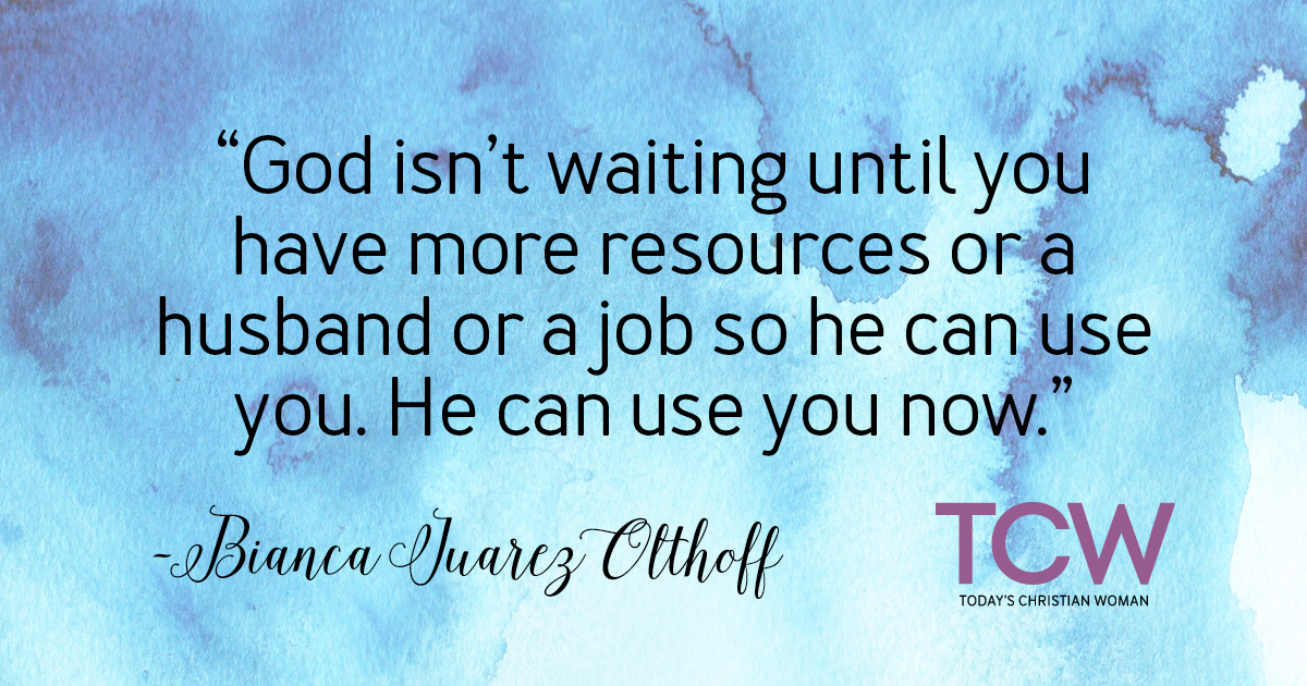 God Can Use You Now
