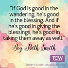 God Is Good in the Giving