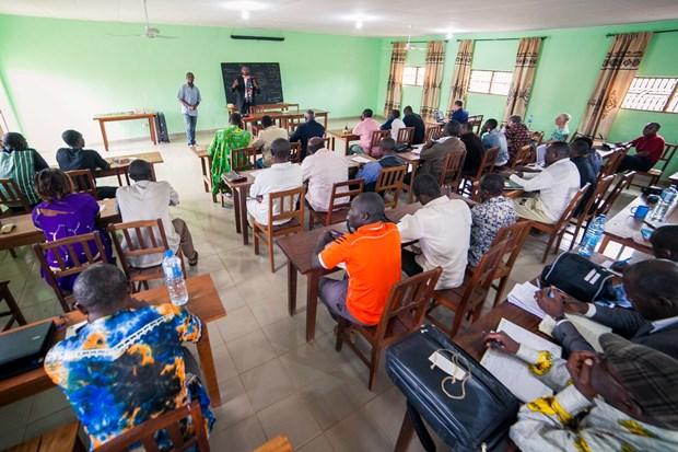 MAST translators meet in Cameroon last year.