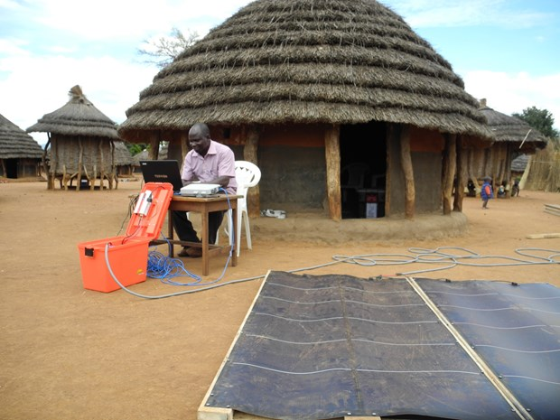 This technology kit accelerates Bible translation in rural areas.