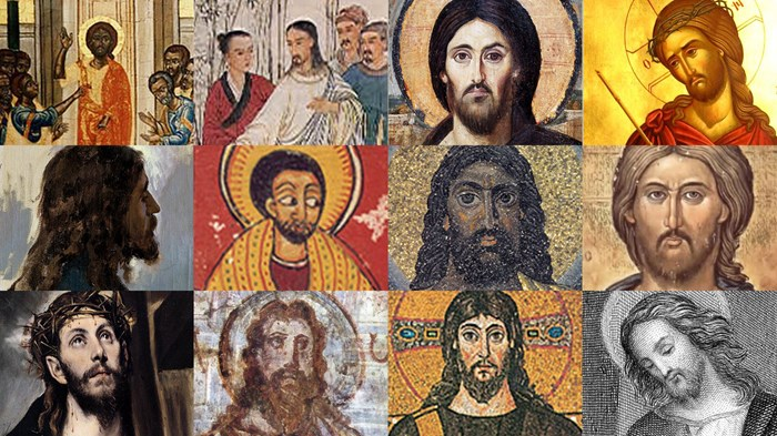 Image result for coloured jesus
