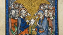 """Was the phrase """"he descended into hell"""" always part of the Apostles' Creed, or was it introduced later? And how have Christians interpreted it over time?"""