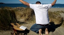 Innovative Church Practices, Inspired by Stock Photos: The Abandoned Guitar