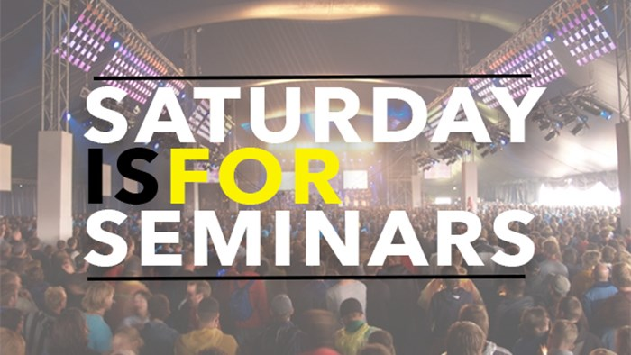Saturday is for Seminars—Disaster Relief Conference