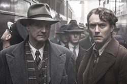 Colin Firth and Jude Law in 'Genius'