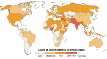 Across 198 Nations, Christians Face More Terrorism But Less Government Hostility