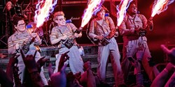 Melissa McCarthy, Kate McKinnon, Kristen Wiig, and Leslie Jones in 'Ghostbusters'