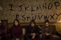 Winona Ryder, Charlie Heaton, and Natalia Dyer in 'Stranger Things'