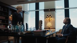 Anna Gunn and Lee Tergesen in 'Equity'