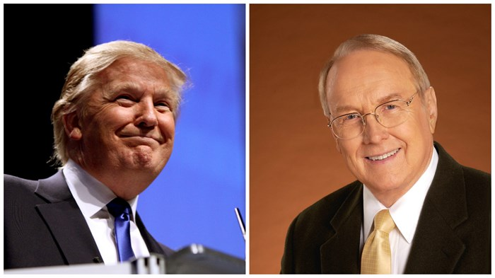 Dobson Explains Why He Called Trump a 'Baby Christian'