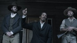 Nate Parker, Jayson Warner Smith, and Armie Hammer in 'The Birth of a Nation'