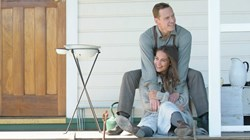 Michael Fassbender and Alicia Vikander in 'The Light Between Oceans'