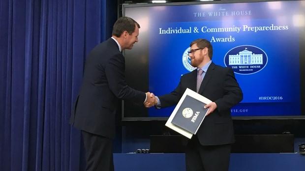 Disaster Ministry Expert Receives FEMA Award