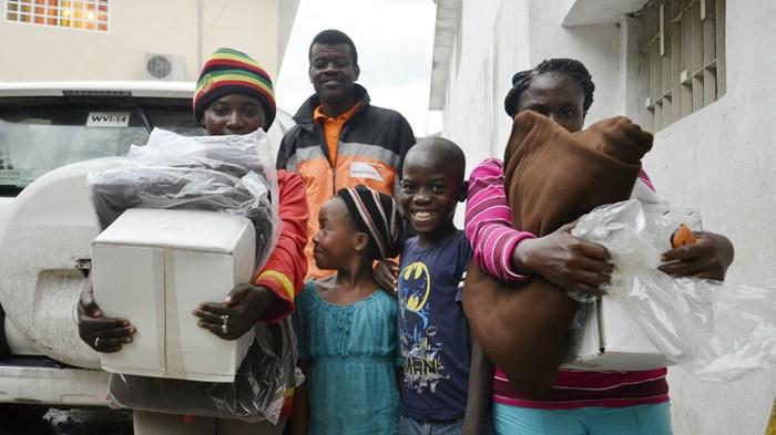 Haiti Hurricane Displaces Sponsored Children