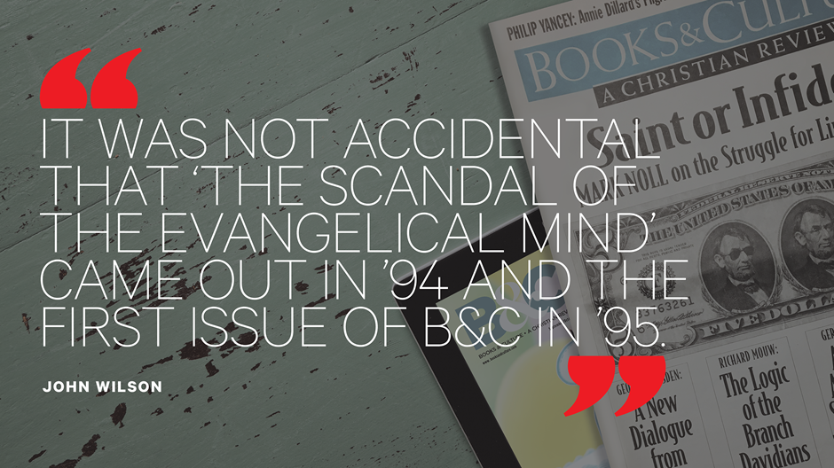 Should Evangelical Intellectuals Despair 'Books and Culture's' Demise?