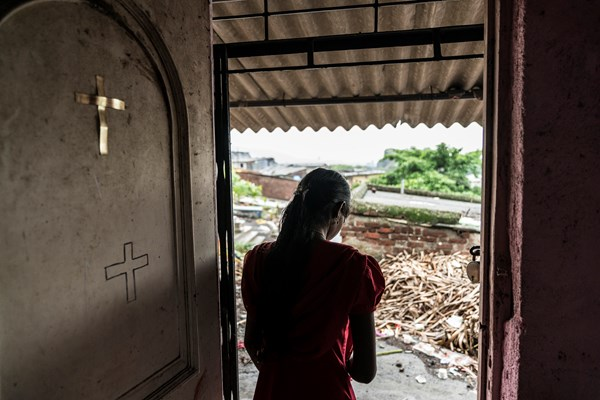 Baptists turned this former Mumbai brothel into a sewing center.