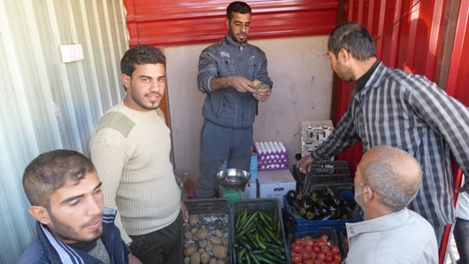 FBR opened the first store post-ISIS in southeast Mosul.