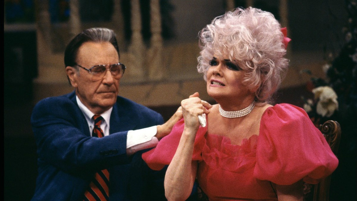 Oral Roberts and Jan Crouch