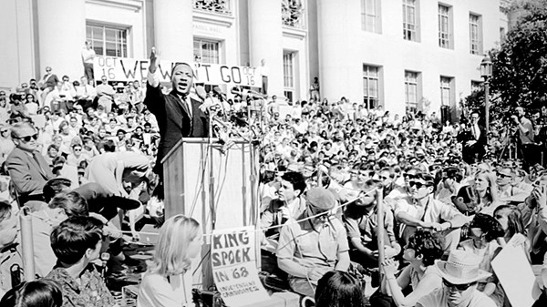 Martin Luther King Jr Christian History