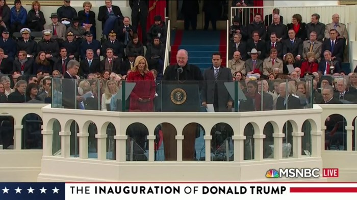 Trump Inauguration's Bible Reading Is Not in Your Bible