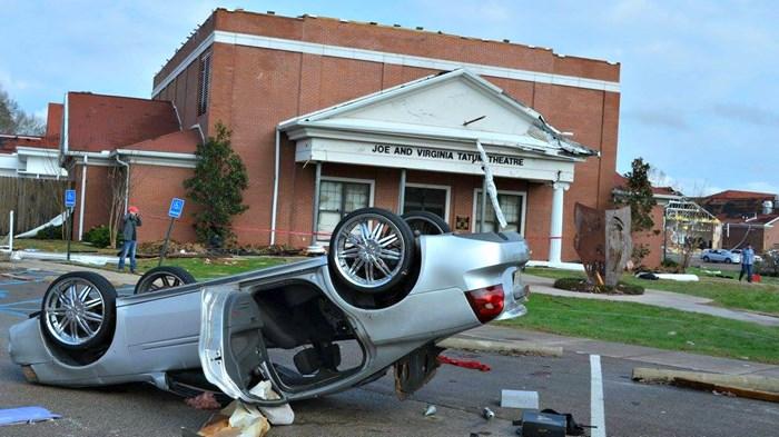 Deadliest Winter Tornado in Decades Crumbles Baptist Campus