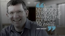 Andy Crouch: My Work as a Father Will Outlast Any Word I'll Ever Write