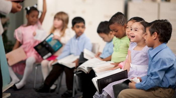 Teaching Preschoolers that Jesus Loves