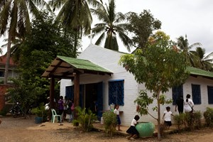The 25-year-old church, one of about 100 in the city, includes an orphanage to care for 29 children from the area.