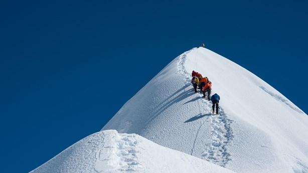 Just as Mountain Climbers Need a Sherpa, So Children Need a Father