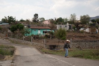 At last count, the village of Urequío had 700 residents.